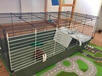 Ferplast 120 Rabbit, Guinea Pig or Dwarf Rabbit Cage