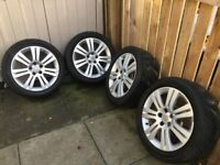 Alloy Wheels with Tyres Vauxhall