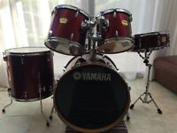 Yamaha YD Series Drum Kit (Red) *Great for Beginers*