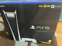 PlayStation 5 Digital - Brand New and ready to collect