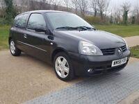 Renault Clio 1.2 57000 miles Campus Sport I-Music 3dr LOW MILEAGE