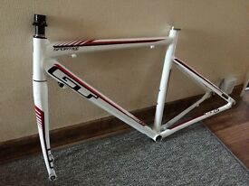 Lightweight road bike frame and saddle