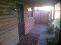 Detached self contained property for one working person for rental in Foelgastell SA14
