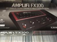Line 6 fx100 multi fx modelling guitar pedal bluetooth