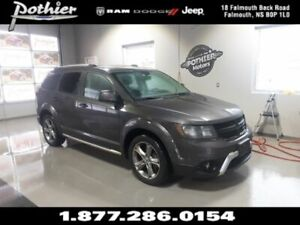 2018 Dodge Journey Crossroad |AWD | LEATHER | SUNROOF | NAV | DV
