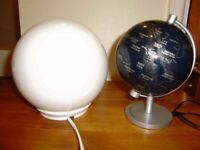 Lamp x 3, bedside lamps, good condition and working order