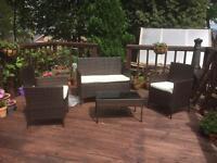 Ratan garden furniture