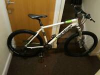 Boardman comp mountain bike with fluid brakes