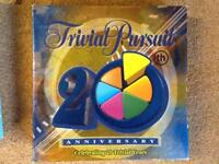 TRIVIAL PURSUIT 20th Anniversary Edition **COMPLETE**