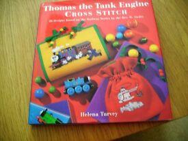 Thomas the Tank Engine Cross Stitch Craft Book
