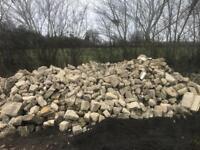 Bath stone rubble