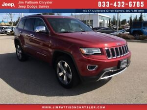 2014 Jeep Grand Cherokee Limited - Leather, 4x4
