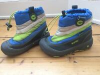 Size 13 Junior snow boots