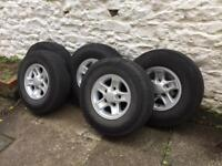 """Landrover Defender 16"""" Boost Alloys and Tyres"""