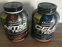 Gym Supplements (Nitro-Tech & Cell-Tech) / Gym Protein & Creatine