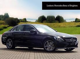 Mercedes-Benz C Class C220 D AMG LINE (black) 2016-05-04