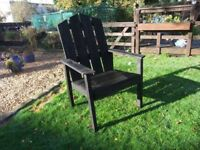 Chattahoochee chairs Adult chair £12 and Child's chair £6
