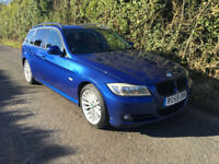 2009 BMW 330d SE Touring (E91) LCI, manual, leather, new timing chain + service