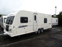 2010 bailey pegasus 624 caravan 4 berth new awning + annex + new motor mover