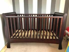 Vintage style cot-bed..