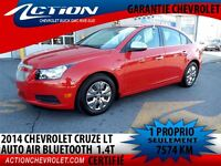 2014 Chevrolet Cruze LT AUTO AIR BLUETOOH 1.4T