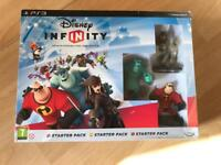Disney infinity starter pack PS3 (incomplete)