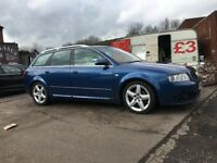 AUDI A4 1.9 TDI SPORT QUATRO 4 WHEEL-DRIVE 6SPEED MANUAL