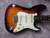 2004 Fender Stratocaster CIJ Japan ST62-70TX 62 Reissue Texas Specials with Hard Case