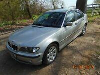 2002 BMW 318i SHORT MOT FULL SERVICE HISTORY for sale  Shrewsbury, Shropshire