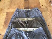 Men's clothing bundle cargo pants size 30x31
