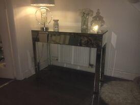 Mirrored Desk / Dressing Table