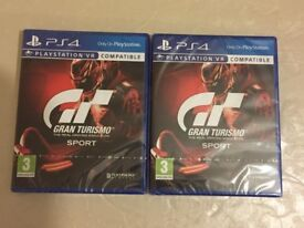 GRAN TURISMO SPORT PS4 - BRAND NEW AND SEALED FOR PLAYSTATION 4 - PS4