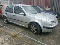 Vw golf 2001 tdi.silver breaking for parts