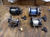 multiplier fishing reels x3