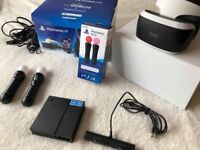 Playstation PSVR and Twin Move Controller Pack