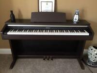 Casio Celviano AP-220 electric digital piano, includes storage piano stool