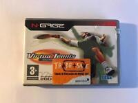 N Gage virtual tennis game