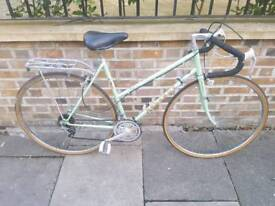 PEUGEOT LADIES ROAD BIKE PALE GREEN