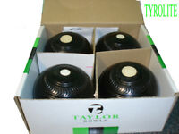 Lawn Bowls. Tyrolite - size 5-1/16. Bias 3.