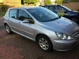 Reduced for Quick Sale! 2005 Peugeot 307s 1 Lady owner