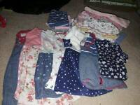 Baby Girl Clothes bundle 0-18 Months
