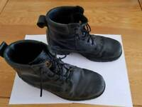 Steel toe capped boots size 8
