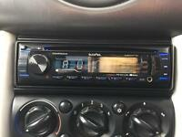 Inphase car stereo aux USB ad cd