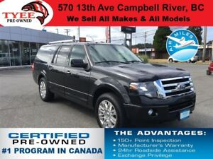 2014 Ford Expedition Max Limited 4x4 Navigation Sunroof Leather