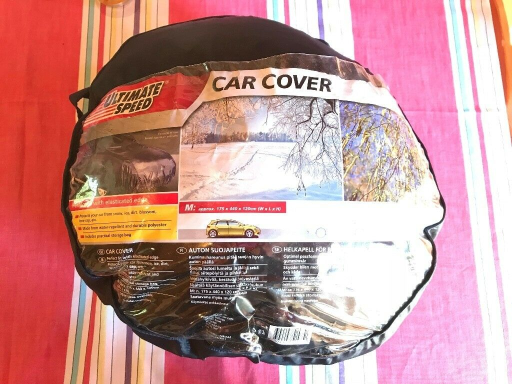 Ultimate Speed Car Cover Protector With Elasticated Edges