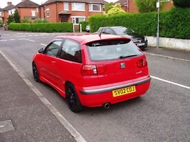 Regrettably selling my ibiza cupra R flash red new mot in near immaculate condition