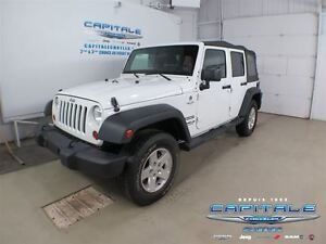 2013 Jeep WRANGLER UNLIMITED SPORT 4 PORTES*MAGS*CRUISE