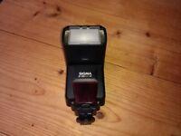 Sigma flash for Canon cameras