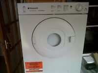 TUMBLE DRYER VENTED COMPACT HOTPOINTDRYER