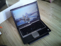 "Excellent Dell Latitute D620-14.1""-core2duo-2ghz-3gb ram-80gb hard drive-ms word-windows 7 Laptop"